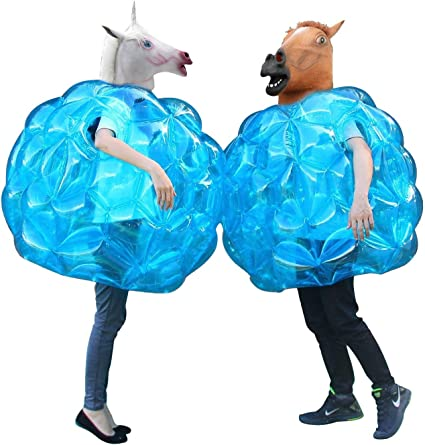 Theefun Sumo Bumper Balls, Inflatable Body Bubble Ball Bumper Bopper for Kids and Adults 36