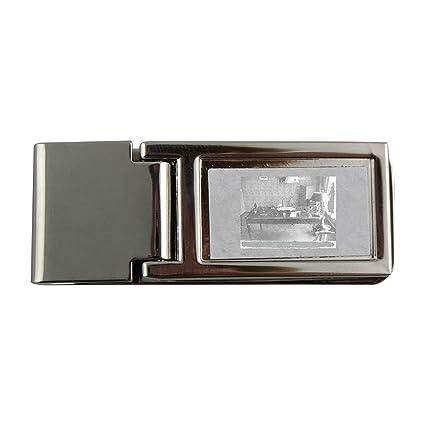 Metal dinero clip con christian-dior oficina.: Amazon.es: Hogar