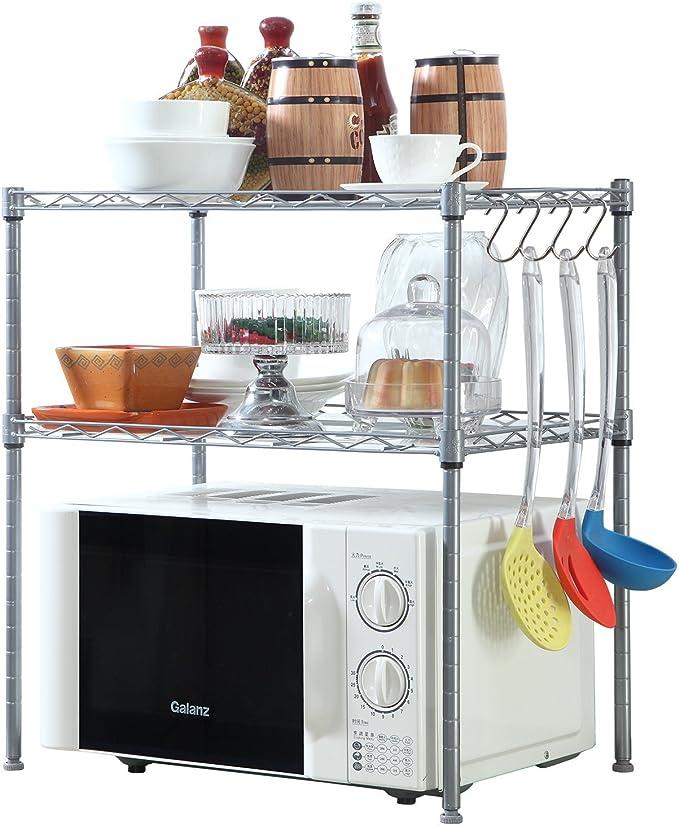 Amazon.com: Homfa librero organizador de cocina con 2 ...