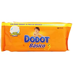 Dodot - Toallitas básico recambio (54 unidades) - [pack de 6]