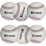 KEVENZ Competition Grade Baseballs,Advance Baseball (6-Pack)