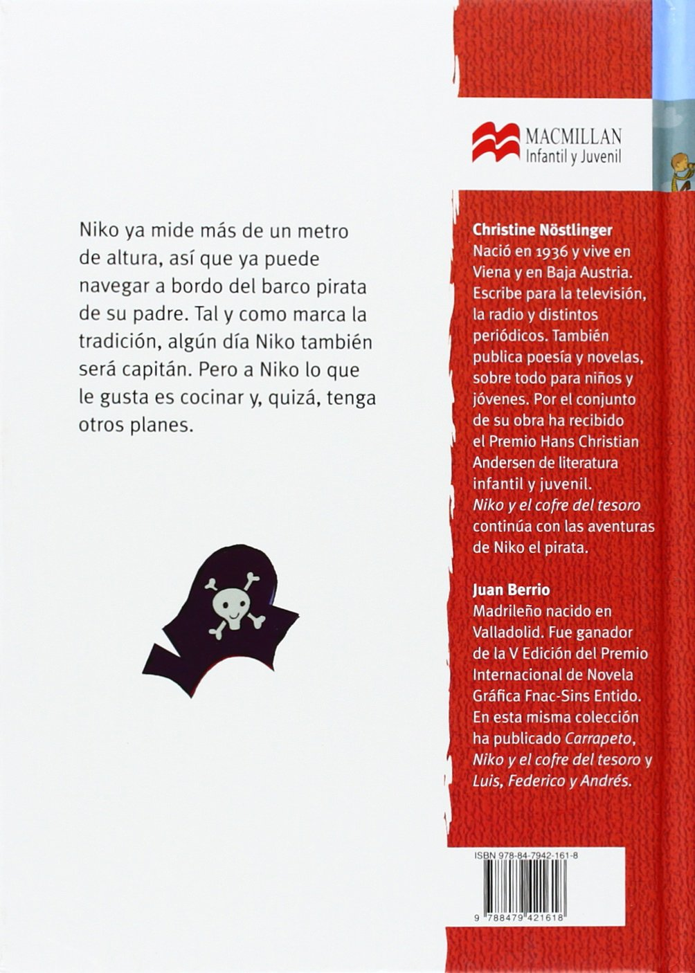 Amazon.com: Niko el pirata (Librosaurio) (Spanish Edition) (9788479421618): Christine Nöstlinger, Juan Berrio: Books