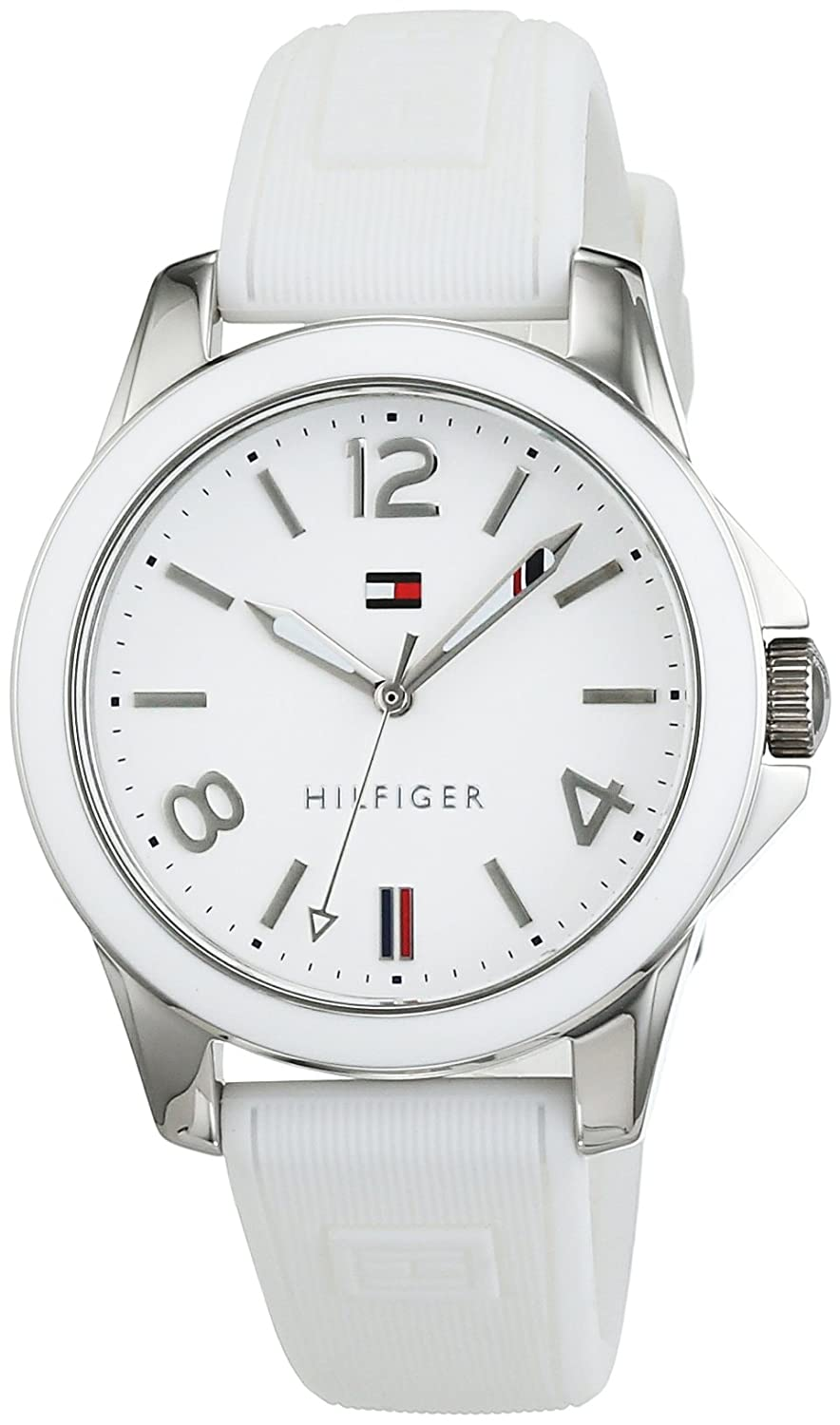 Amazon.com: Tommy Hilfiger 1781680 Womens Watch Casual Sport Analogue Quartz Silicone: Watches