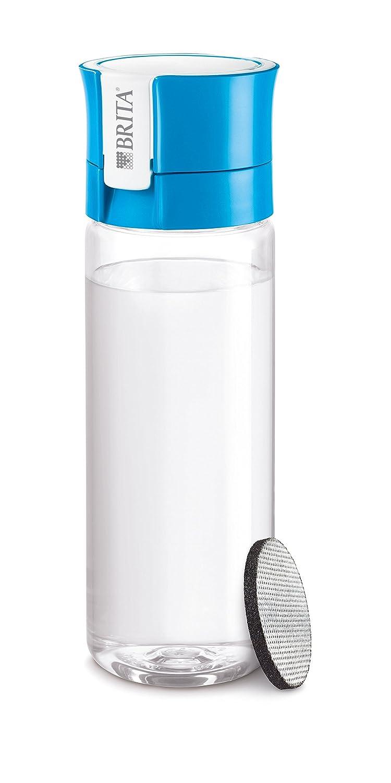 Brita Fill & Go-Bottiglia con filtro 0, 6 L 6x8x23 cm verde S1186