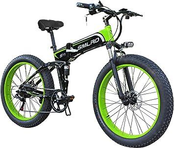 XXCY X26 1000w Bicicleta Híbrida Eléctrica 26 Pulgadas Fat Bike ...