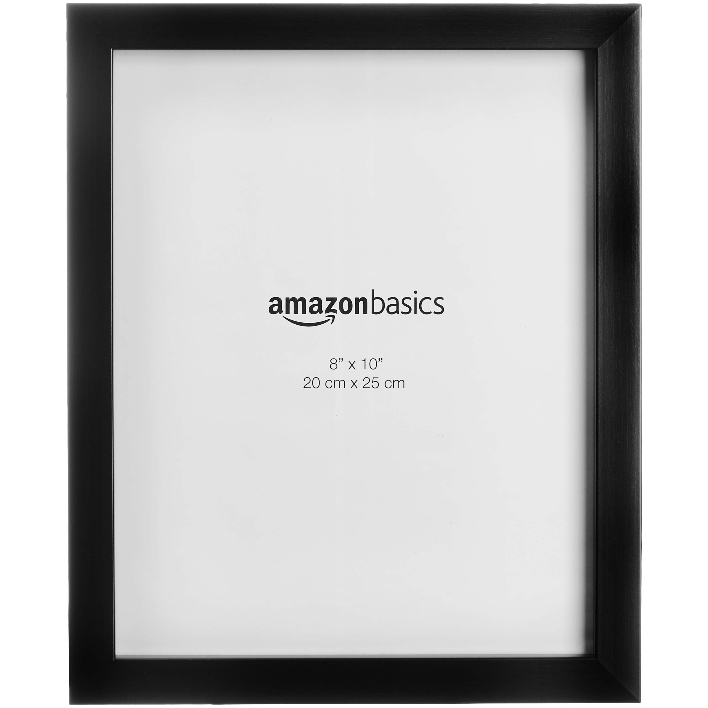 AmazonBasics Photo Picture Frame - 8'' x 10'', Black, 2-Pack