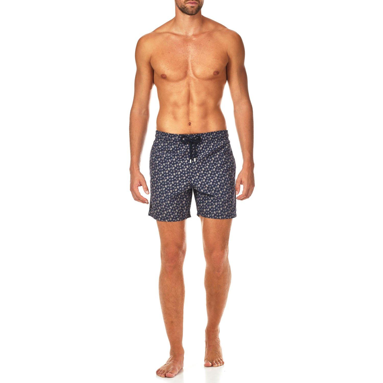 Vilebrequin Micro Ronde Des Tortues Swim Shorts - Men - Navy - XL