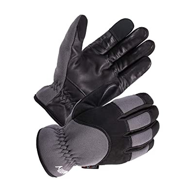 Craftsman Cold Weather Glove Large Fleece Men Women Finger Pad Touchscreen Black
