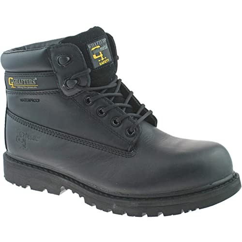 bf626d4786e Grafters Mens Work Boots Padded Non Metallic Jontex Waterproof Safety Shoes