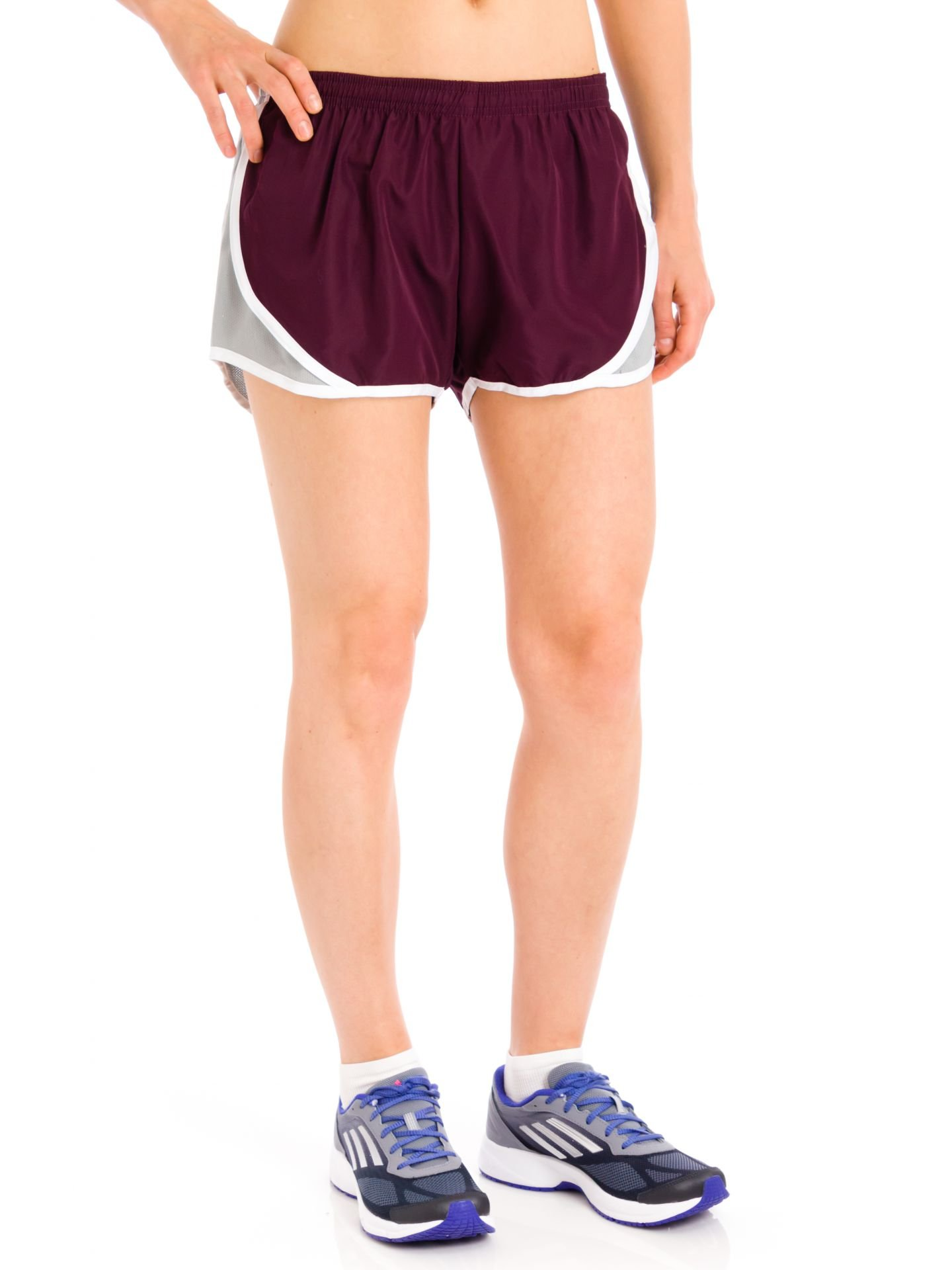 Soffe Junior Shorty Shorts, Maroon, Large by Soffe