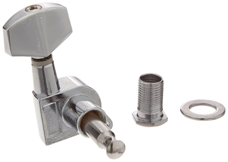 6pcs Chrome Guitar String Tuning Pegs Tuners Machine Heads Guitar Parts Ltd A0027