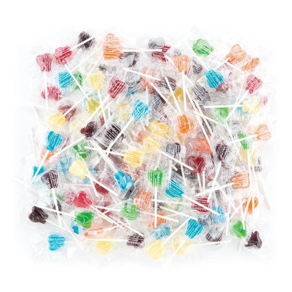 Dr. John's® Sweet Originals® Classic Fruits Collection Bulk Tooth Lollipops - 1200 per pack