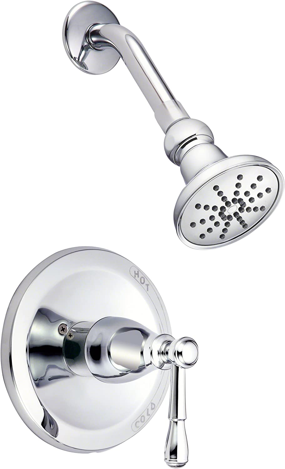 Danze D500515t Eastham Single Handle Shower Trim Kit 2 5 Gpm Valve Not Included Chrome Fixed Showerheads Amazon Com