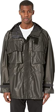 2569f775b3676 adidas Y-3 by Yohji Yamamoto Unisex Gore Tex Hooded Utility Jacket Ash X-