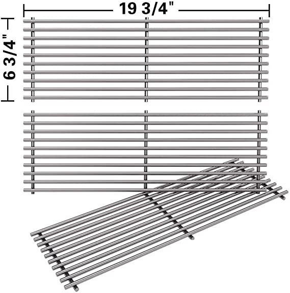 """100049 Cast Iron Grate Charcoal Grills 19.75/"""" X 6.75/"""""""