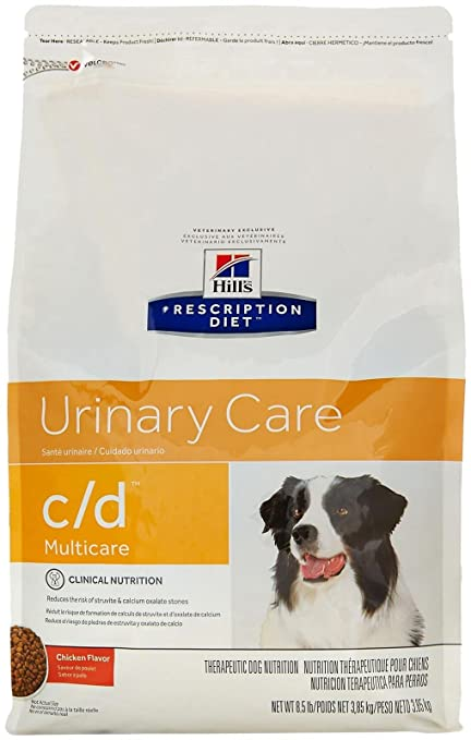 Hills Diet C/D Urinary Tract Health Dry Dog Food - Best Dry Dog Food for Bladder Stones