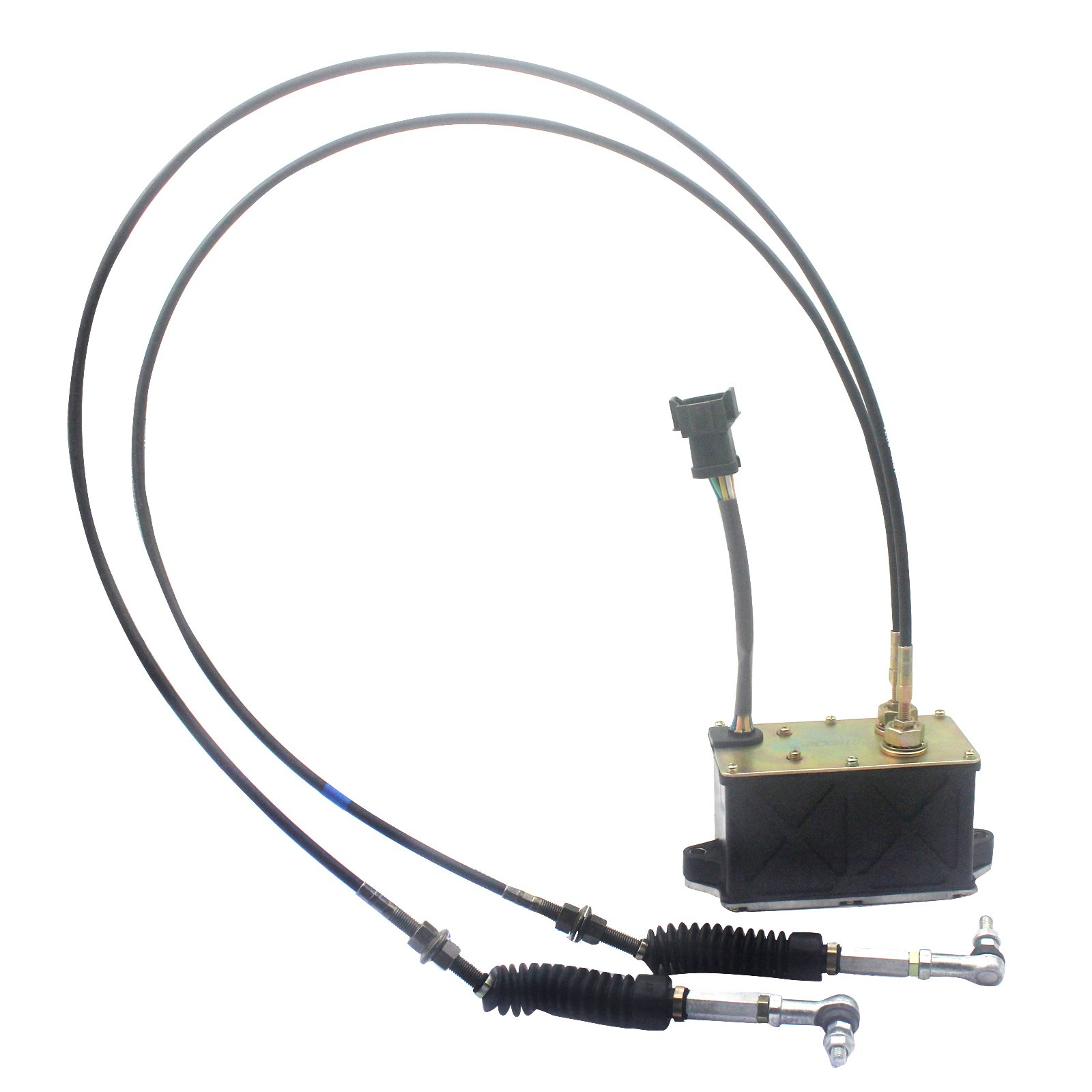 SINOCMP 247-5212 2475212 Stepper Governor 2 Cables 7 Pins Square Plug for Caterpillar 312CL E312CL Throttle Motor Parts 6 Month Warranty by SINOCMP