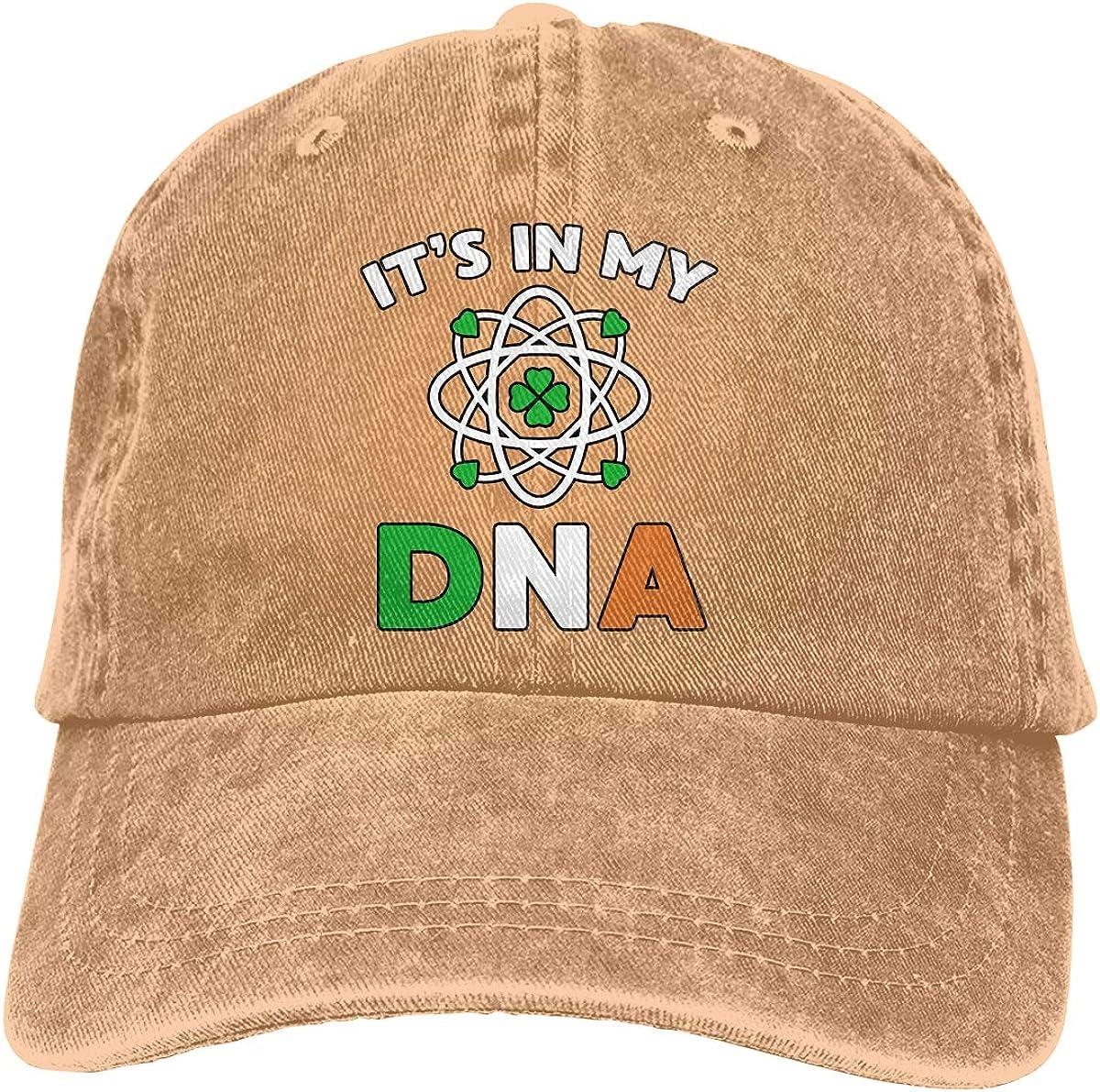 Men Women Its in My DNA Vintage Washed Dad Hat Popular Adjustable Baseball Cap
