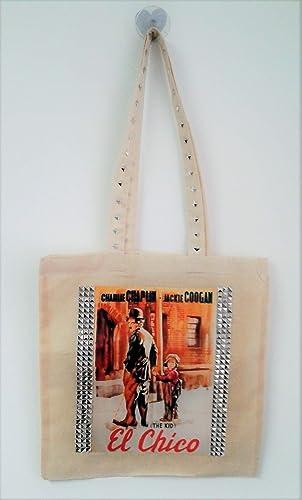 Bolsa de tela de algodón con asa larga: Amazon.es: Handmade