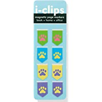 Pawprints I-Clips Magnetic Page Markers