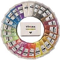 Pigmento en polvo de mica (25 colores 10