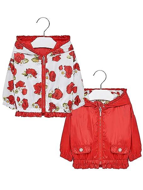 Mayoral, Abrigo para bebé niña - 1422, Rojo: Amazon.es: Ropa y accesorios
