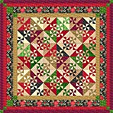 Easy Quilt Kit Christmas Pinwheels 2015/Queen size