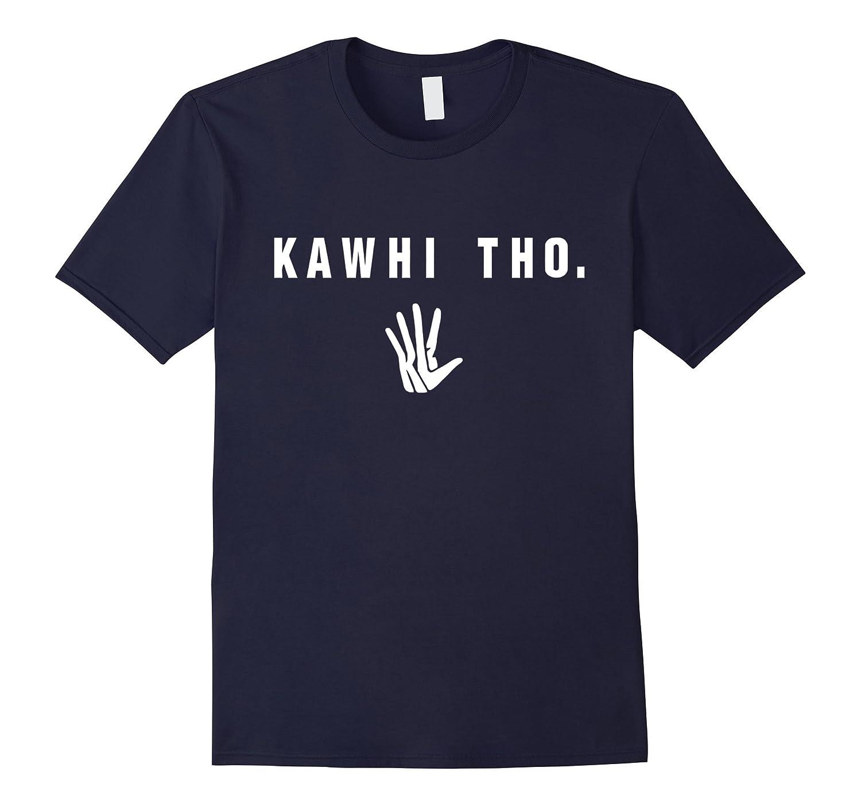 Kawhi Tho Shirt Large Black-Teeae