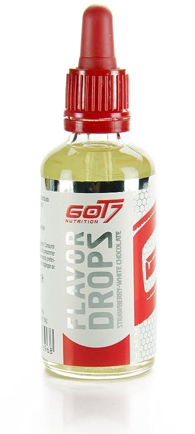 GOT7 Flavor Drops - Saborizante 50 ml - Fresa-Choco Blanco