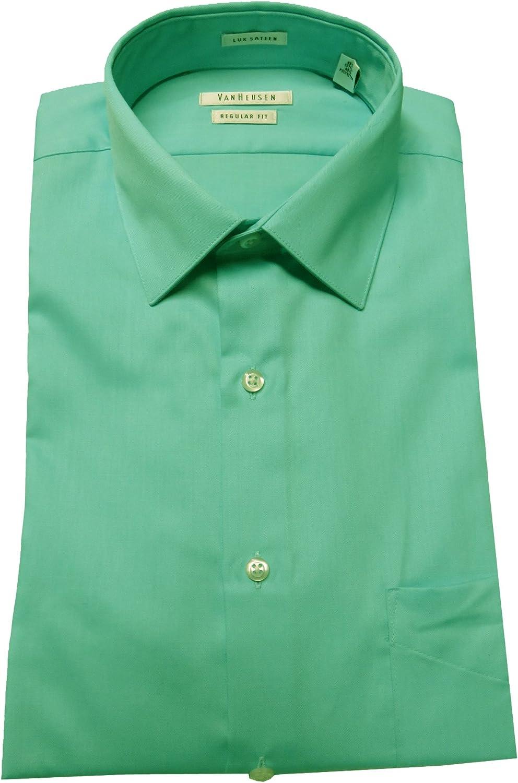 Blue Cloud Size 16-34//35 Van Heusen VanHeusen Mens Regular Fit Shirt