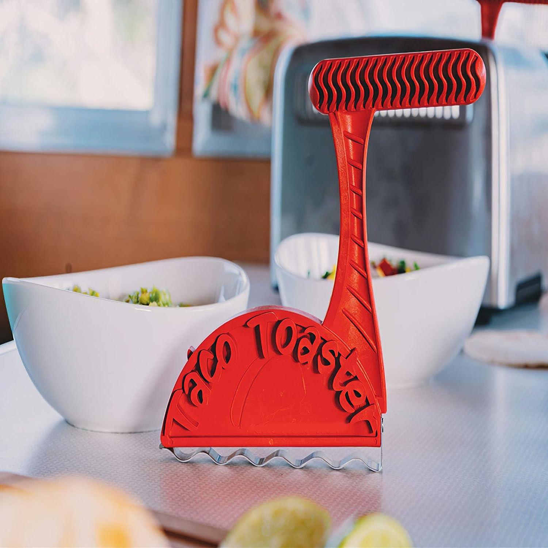 Sxiocta Taco Shell Makers,Taco Bread Machine Taco Toaster Crispy Taco Shell Tool Crispy Healthy Tacos Shells Right from Your Toaster