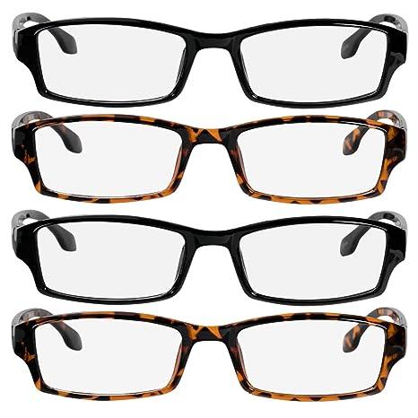 Amazon.com: Gafas de lectura para hombres y mujeres – Pack ...