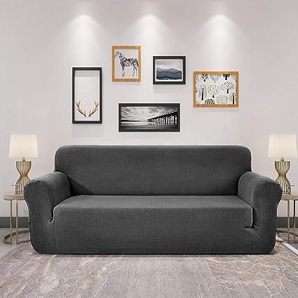 Sofía Casa Jacquard Sofa Slipcover, 1-Piece Soft Elastic Sofa Cover,Couch Cover for Living Room 【Sofa(72