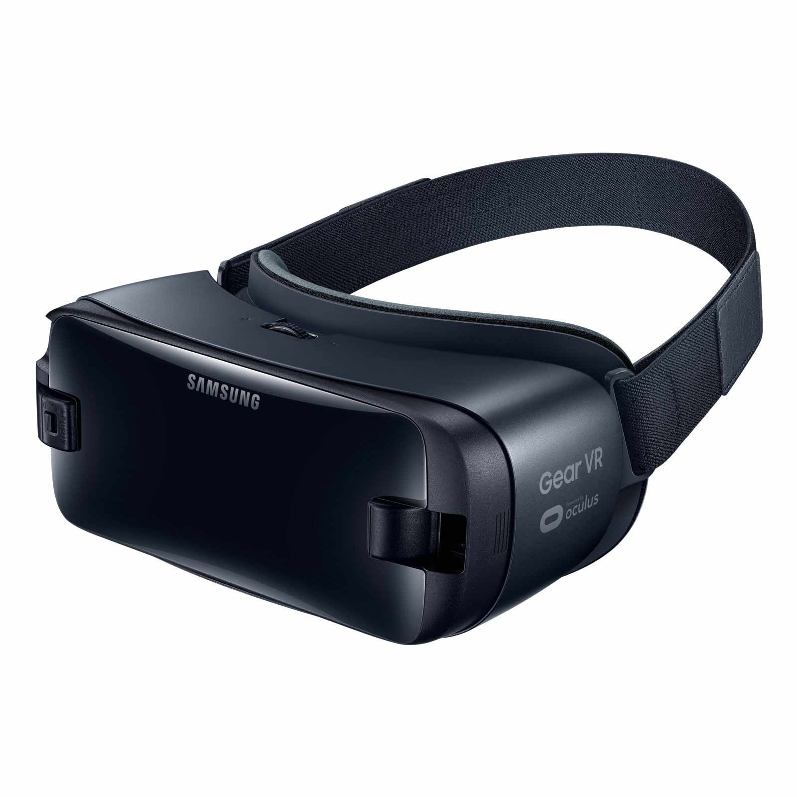 Samsung Gear VR (2017 Edition) with Controller Virtual Reality Headset SM-R325 for Galaxy S8, S8+, S7, S7 edge, Note5, Note 8, S6 edge+, S6, S6 edge (International Version, No Warranty) by Samsung (Image #8)