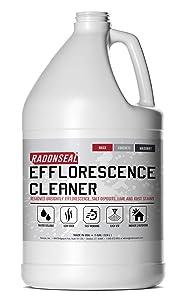 RadonSeal Efflorescence Remover | Cleans Efflorescence, Mortar Haze, Lime Deposits, and Rust Stains. No Oder | Safe for Use Indoors & Outdoors