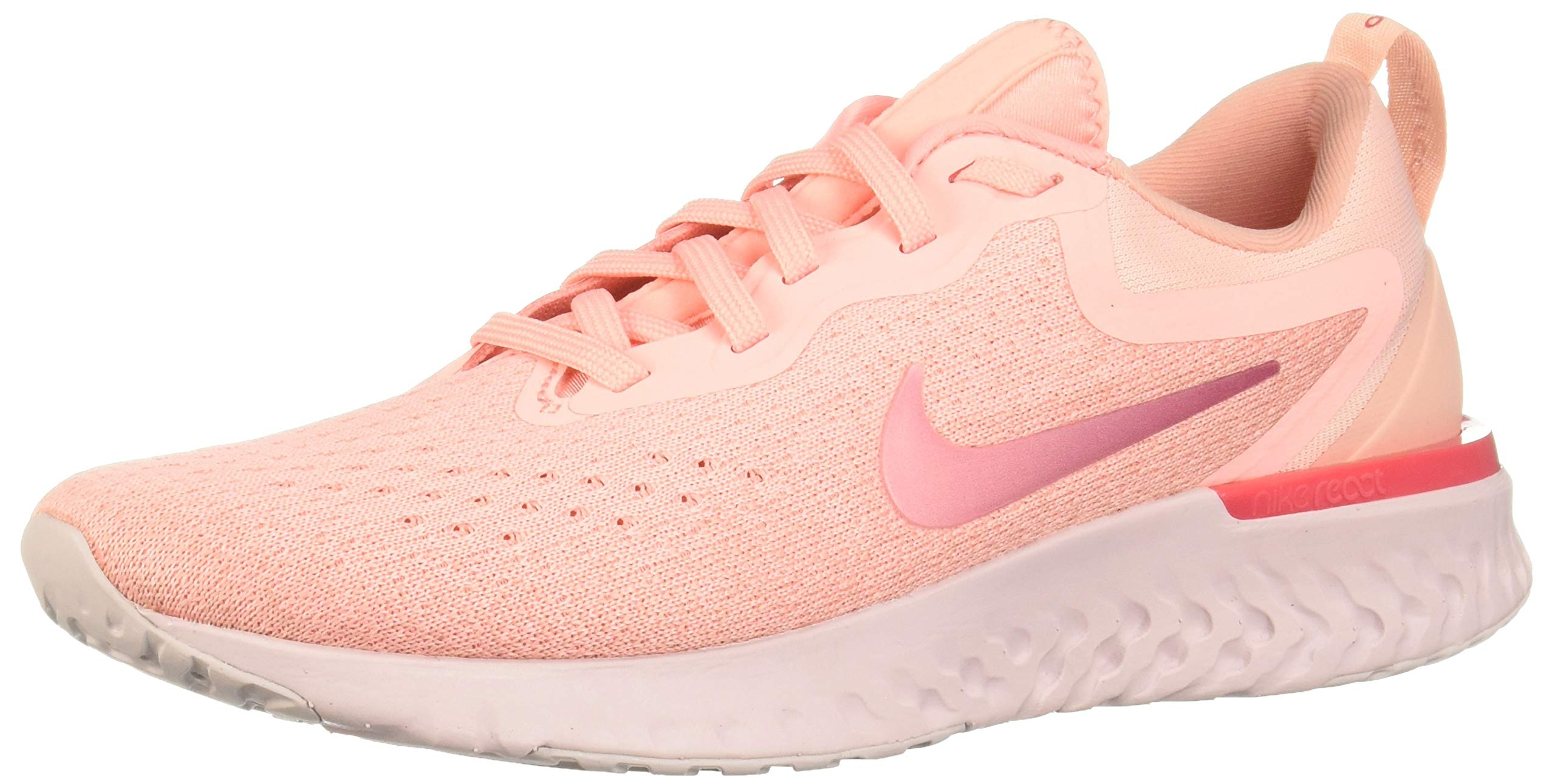 separation shoes 972c9 3389f Nike Women's Odyssey React Running Shoe Oracle Pink/Pink Tint/Coral  Stardust Size 8 M US