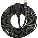 Extend Nyko Link-Adaptateur pour (Câble USB 2.0 Male mâle Noir 5 m Xbox 360 Kinnect,) 1 pièces