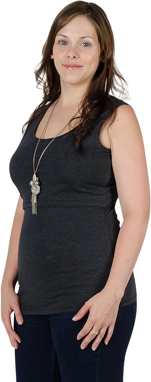 Momzelle Womens Breastfeeding Mia Nursing Tank Top