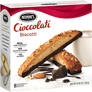product image for NONNIs Biscotti Cioccolati 6.88 Oz. Box of 8 Individually Wrapped Biscotti (2 Pack)