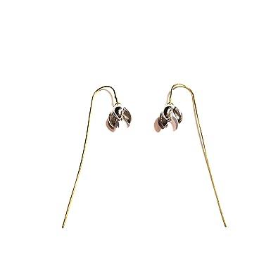 boucles d'oreilles pendantes tiges