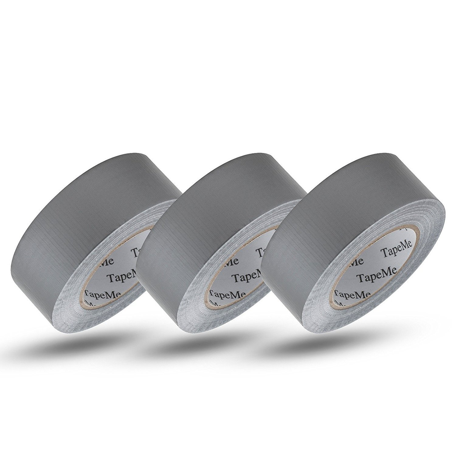 Tape-Me Duct Tape Silver, 1 88 in x 55 yd (Pack of 3)