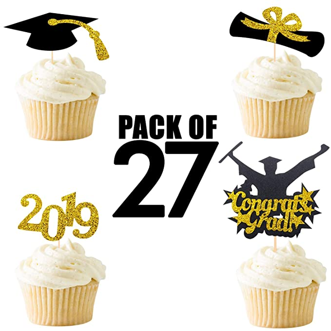 2019 Cake Toppers Class of 2019 Cake Toppers Graduation Cap Cake Topper Graduation Cake Toppers Birthday Toppers Custom Cake Toppers