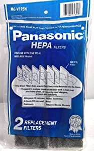 Panasonic Upright Vacuum Cleaner Secondary Filter Models: MC-V9628, MC-V9638 And All 9600 Series