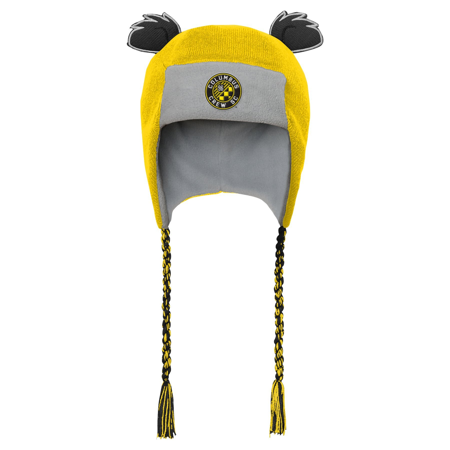 Outerstuff MLS Columbus Crew R S47DL Boys Ears Trooped Hat, One Size, Sun