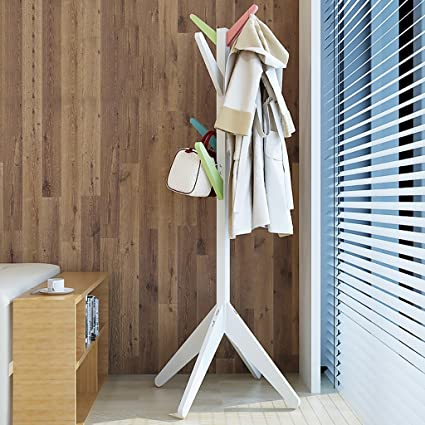 Amazon Coat Racks Coat Rack Tree Free Standing Wooden Hat Adorable Standard Height For Coat Rack