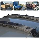 KKmoon 2pcs grille porte-bagage gonflable universelle portable souples supérieur de toit de véhicule transporteur voyage tourisme pour voiture