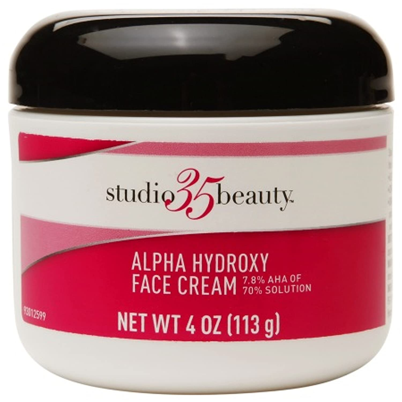 She Alpha hydroxy facial cream heard