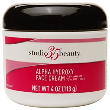 Alpha hydroxy facial cream