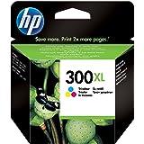 HP 300XL - Cartucho de tinta original, cian, magenta, amarillo -- HP