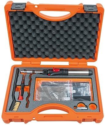 KS Tools 960.1115 - Kit de soldadura de plástico, 33 piezas